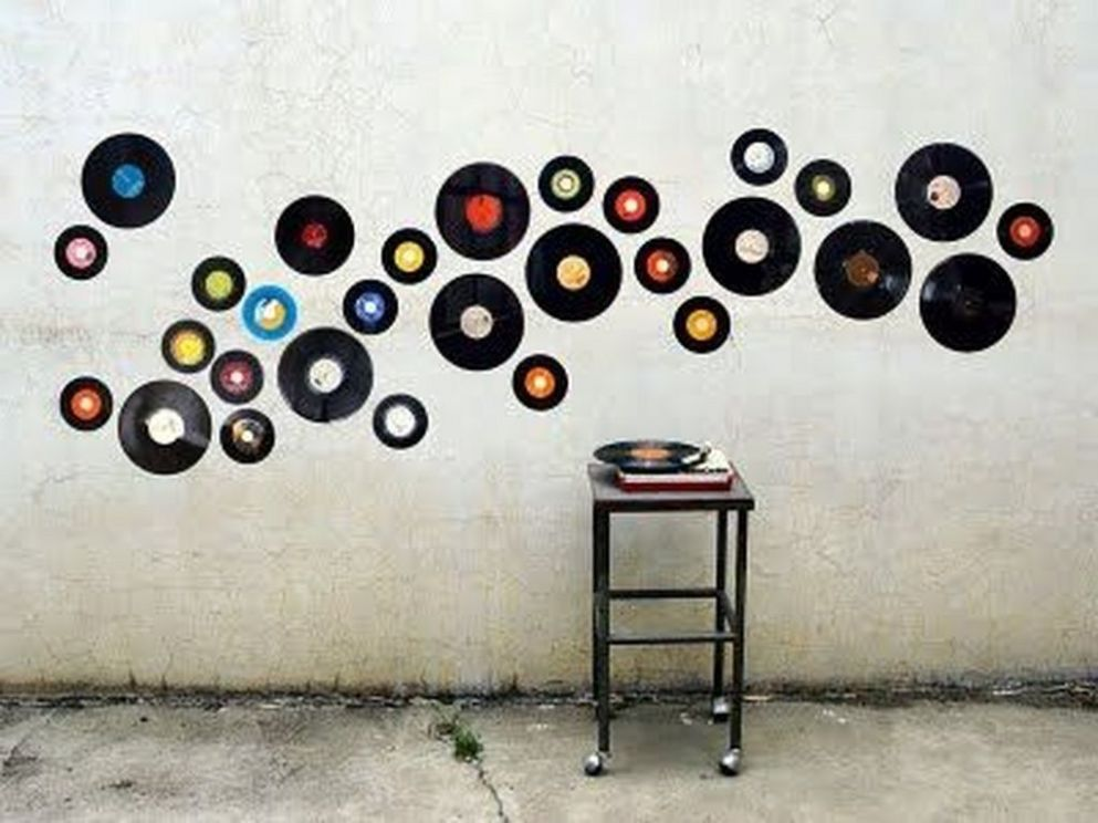 9 Inspiring Modern Wall Art Decoration Ideas | Record wall art ..