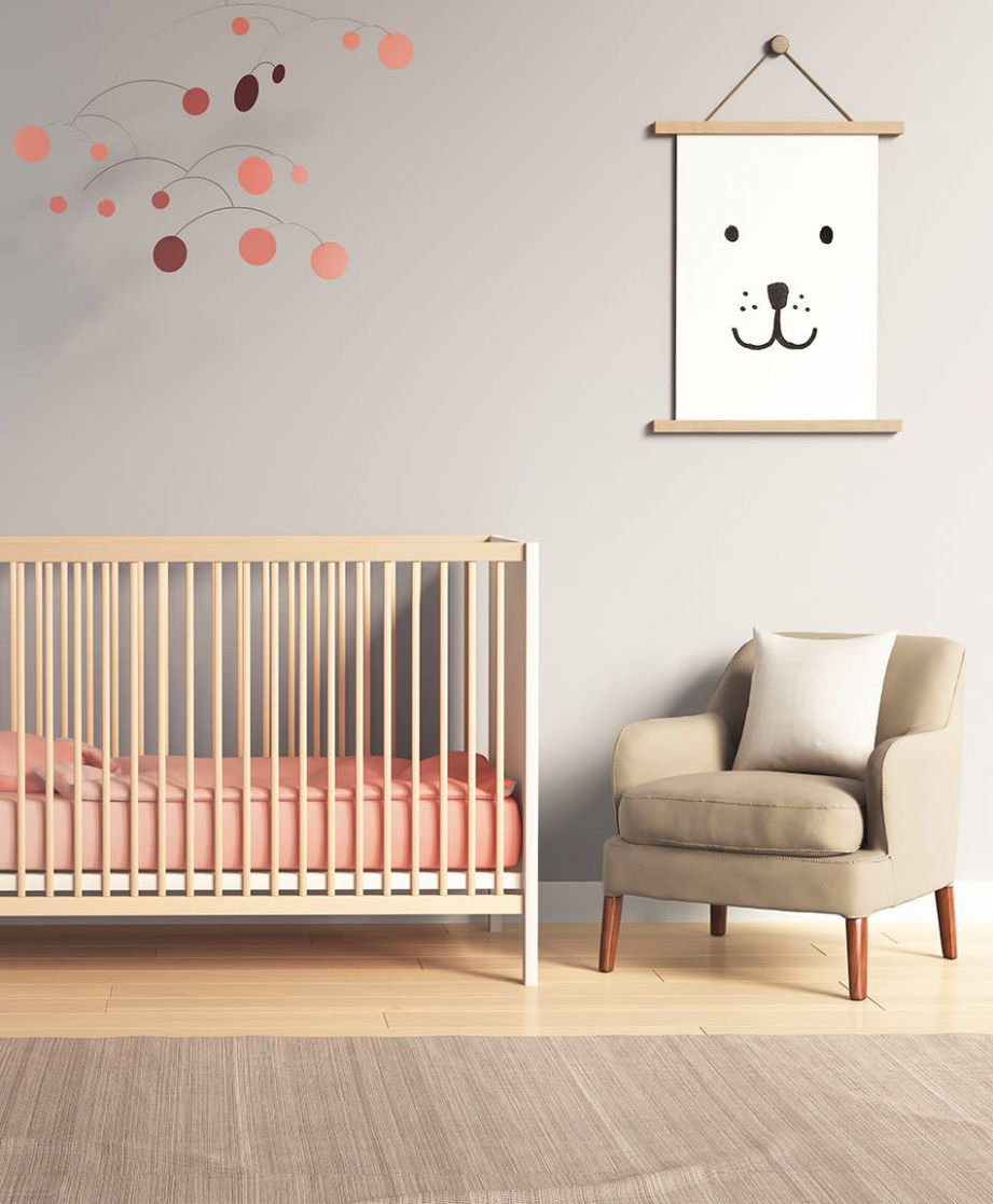 9 Inspiring Nursery Wall Decor Ideas - wall decor ideas stickers
