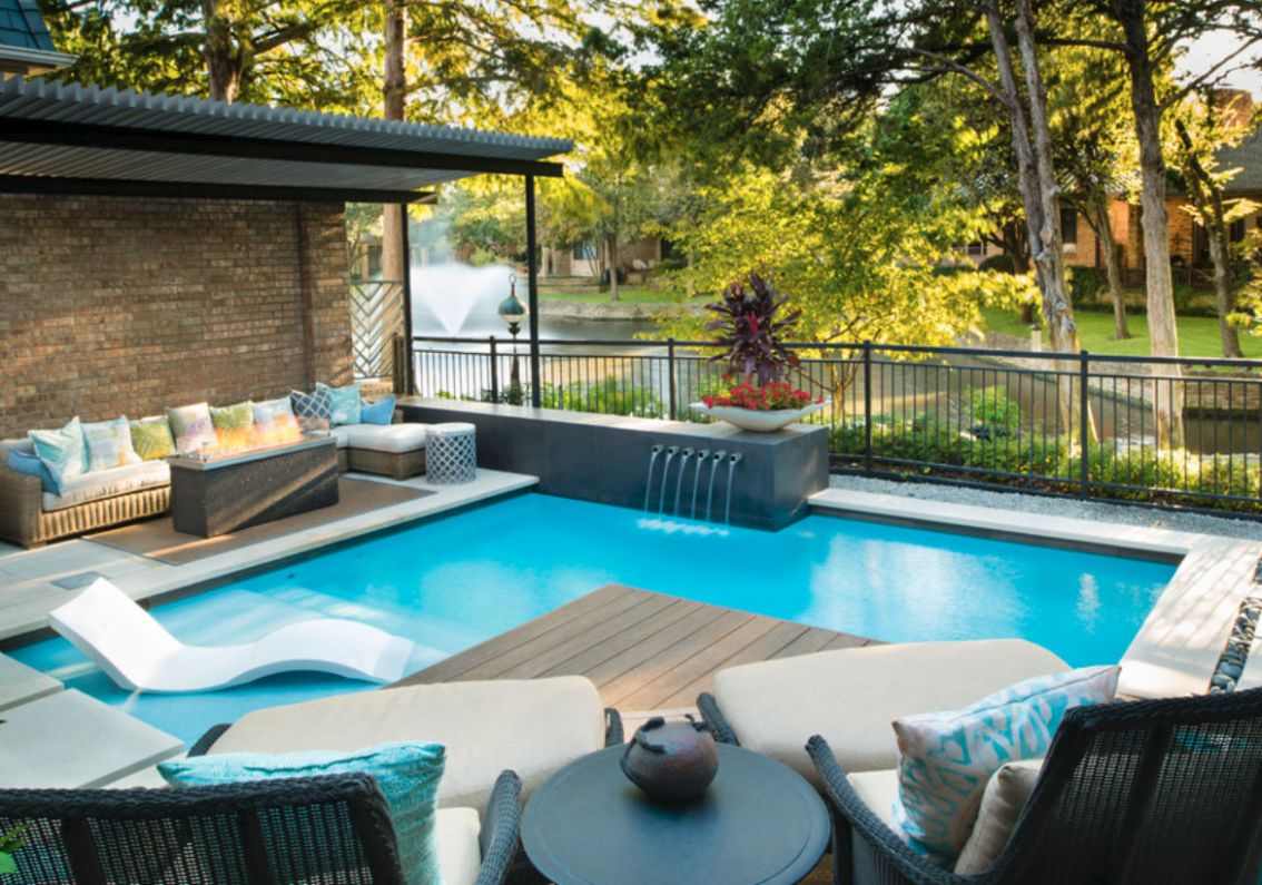 9 Invigorating Backyard Pool Ideas & Pool Landscapes Designs ..