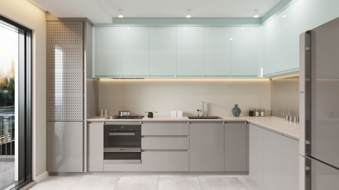 9 Lovely L-Shaped Kitchen Designs & Tips You Can Use From Them - kitchen ideas l shape