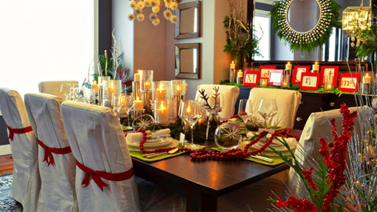 9 Magical Christmas Dining Room Decoration Ideas You Can Use - xmas dining room ideas