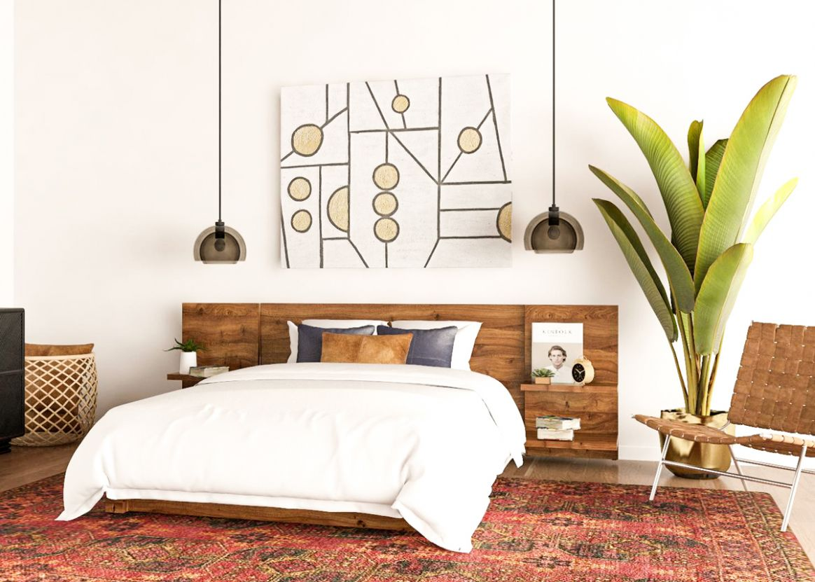 9 Mid-Century Modern Bedroom Ideas to Try in Your Space - bedroom ideas mid century