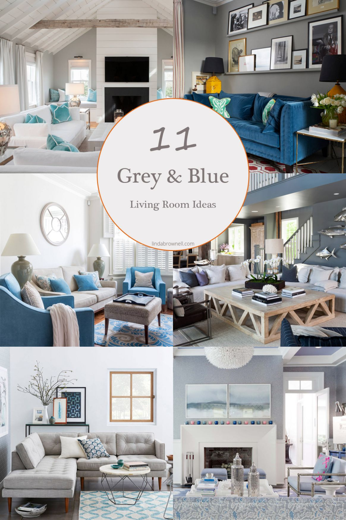 9 Most Attractive Grey and Blue Living Room Ideas That You Will ..