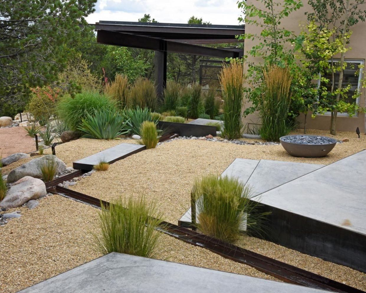 9 No-Grass Backyards You Can Pull Off Anywhere | No grass ...