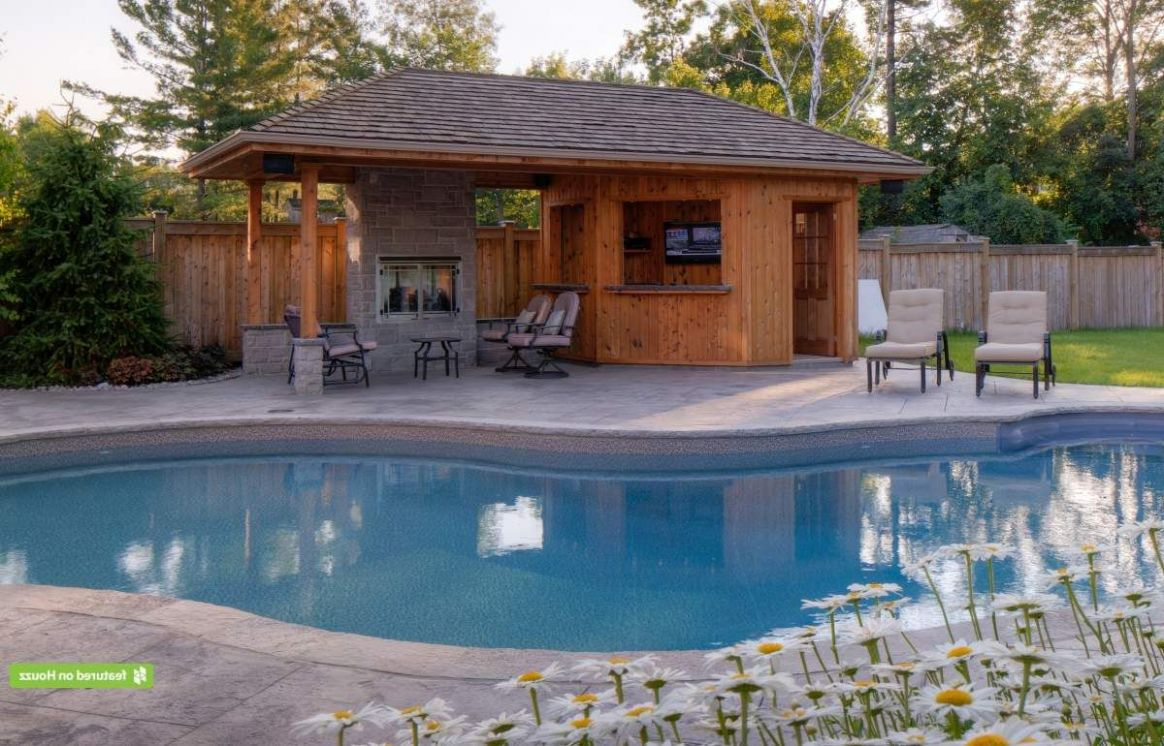 9 Pool House And Cabana Ideas for Relaxing Retreat #rustic #small ..