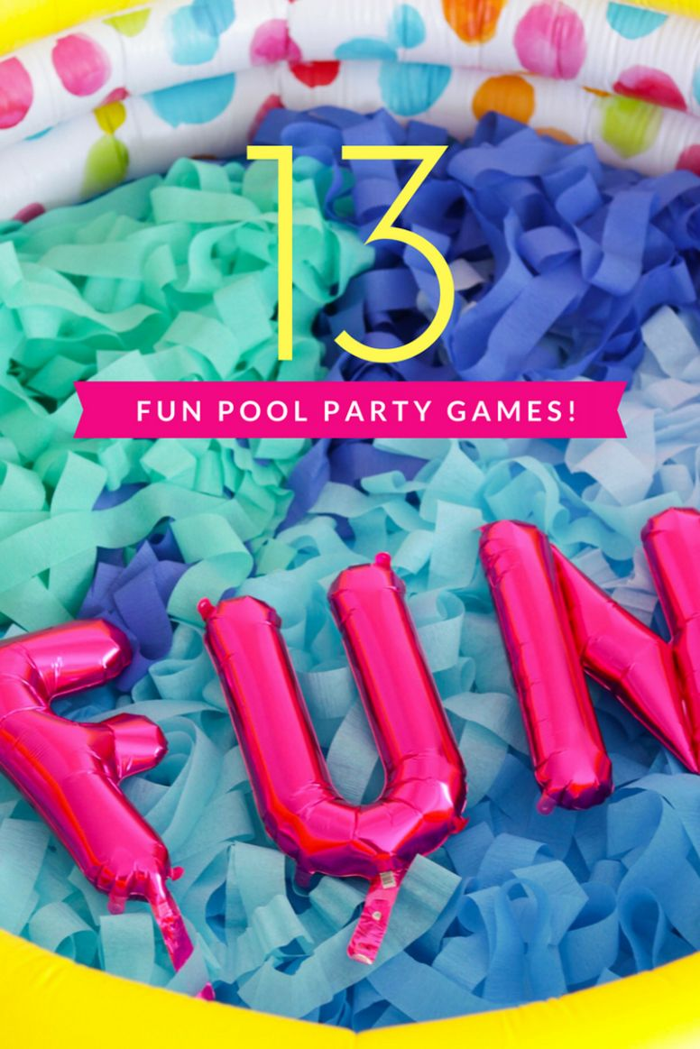 9 Pool Party Games You've Never Seen Before • A Subtle Revelry
