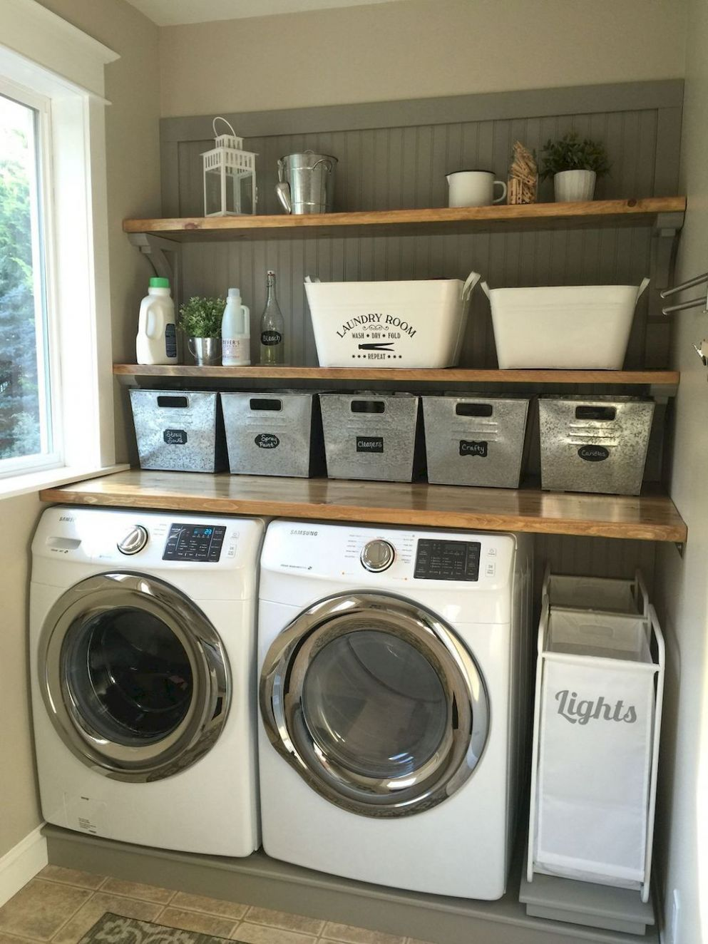 9 Rustic Laundry Room Ideas Decoration Remodel | Laundry room ...