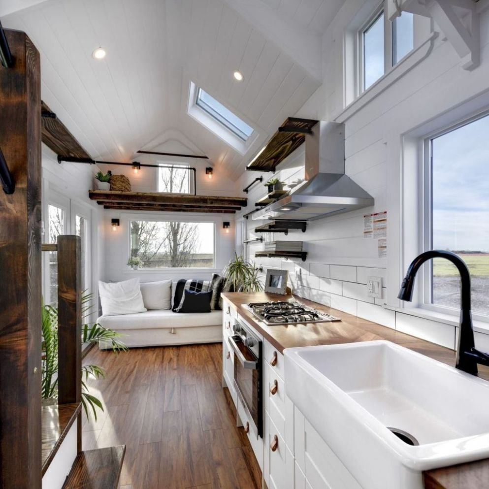 9+ Rustic Tiny House Interior Design Ideas You Must Have - TRENDECORS