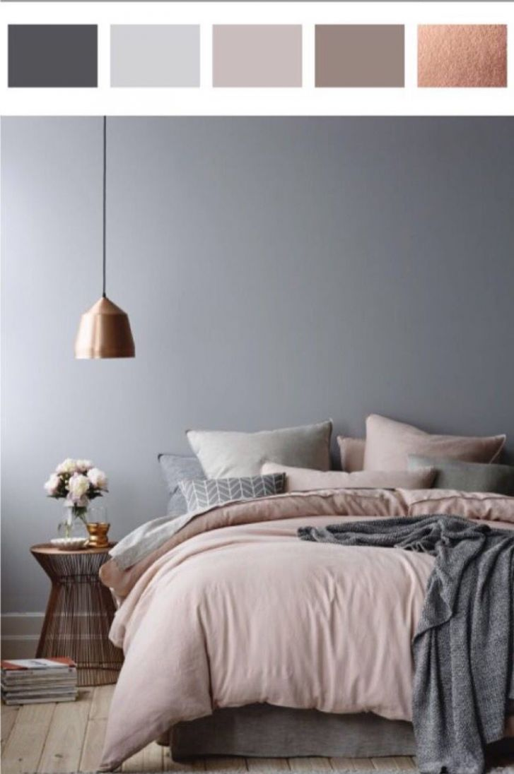 9 Shades of Grey in the Bedroom   Farbgestaltung schlafzimmer ..