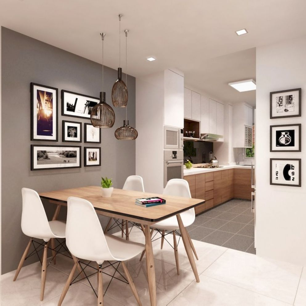 9 Small and Clean First Apartment Dining Room Ideas - apartment dining room decor ideas