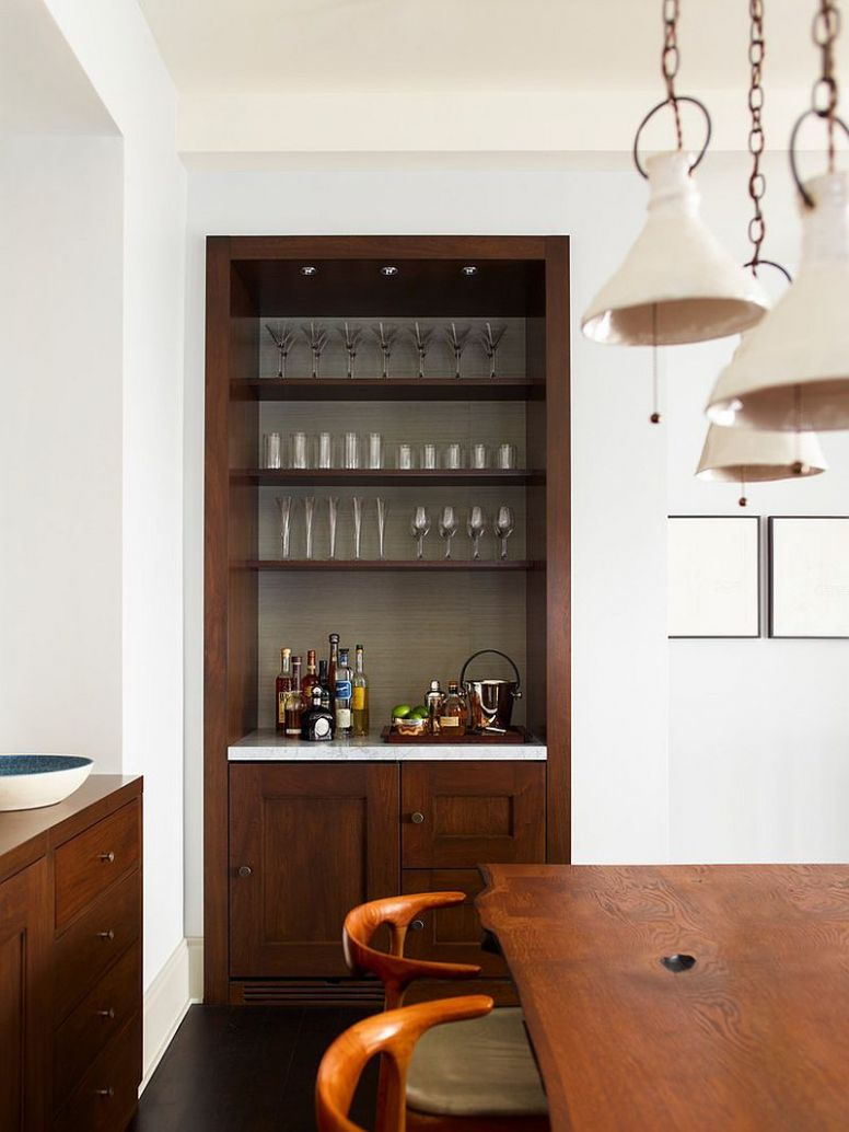 9 Small Home Bar Ideas and Space-Savvy Designs | Small bars for ...