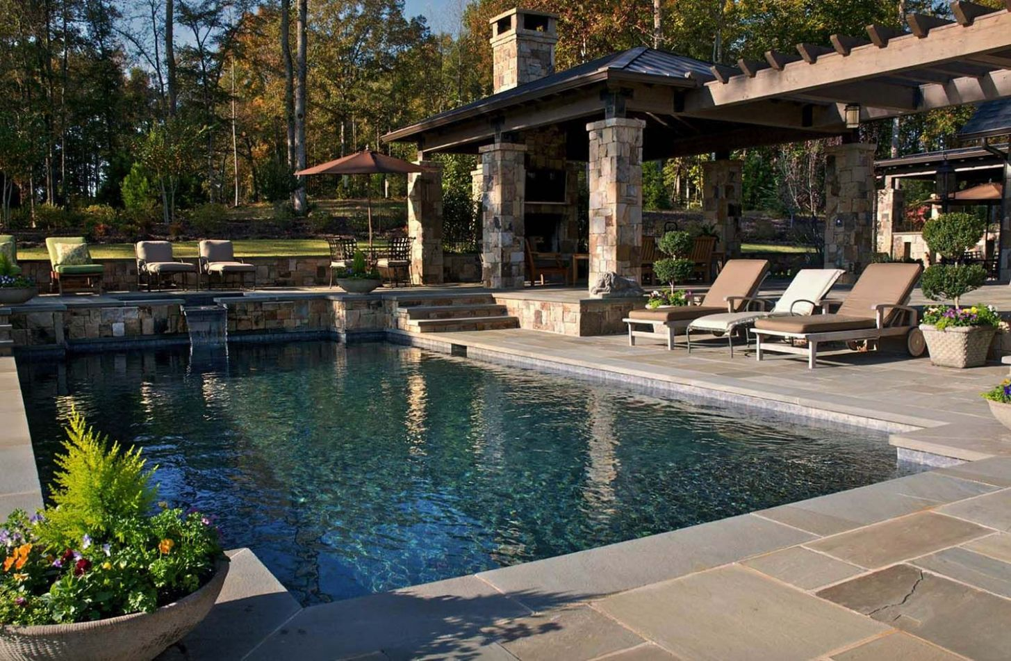 9+ Spectacular outdoor swimming pool ideas with gorgeous ..