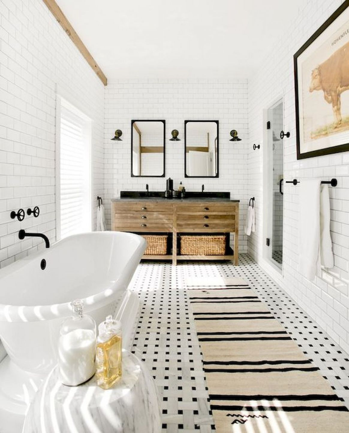 9 Stunning Modern Farmhouse Bathroom Decor Ideas Make You Relax ..