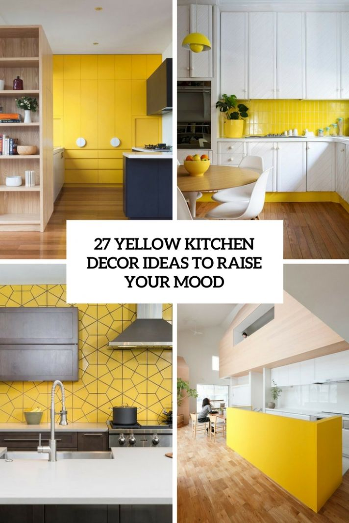 9 The Coolest Kitchen Designs Of 9 - DigsDigs - kitchen ideas yellow