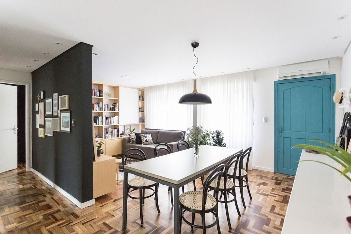 9 Tiny Apartment Dining Rooms that Save Space and Multitask! - dining room ideas for apartments