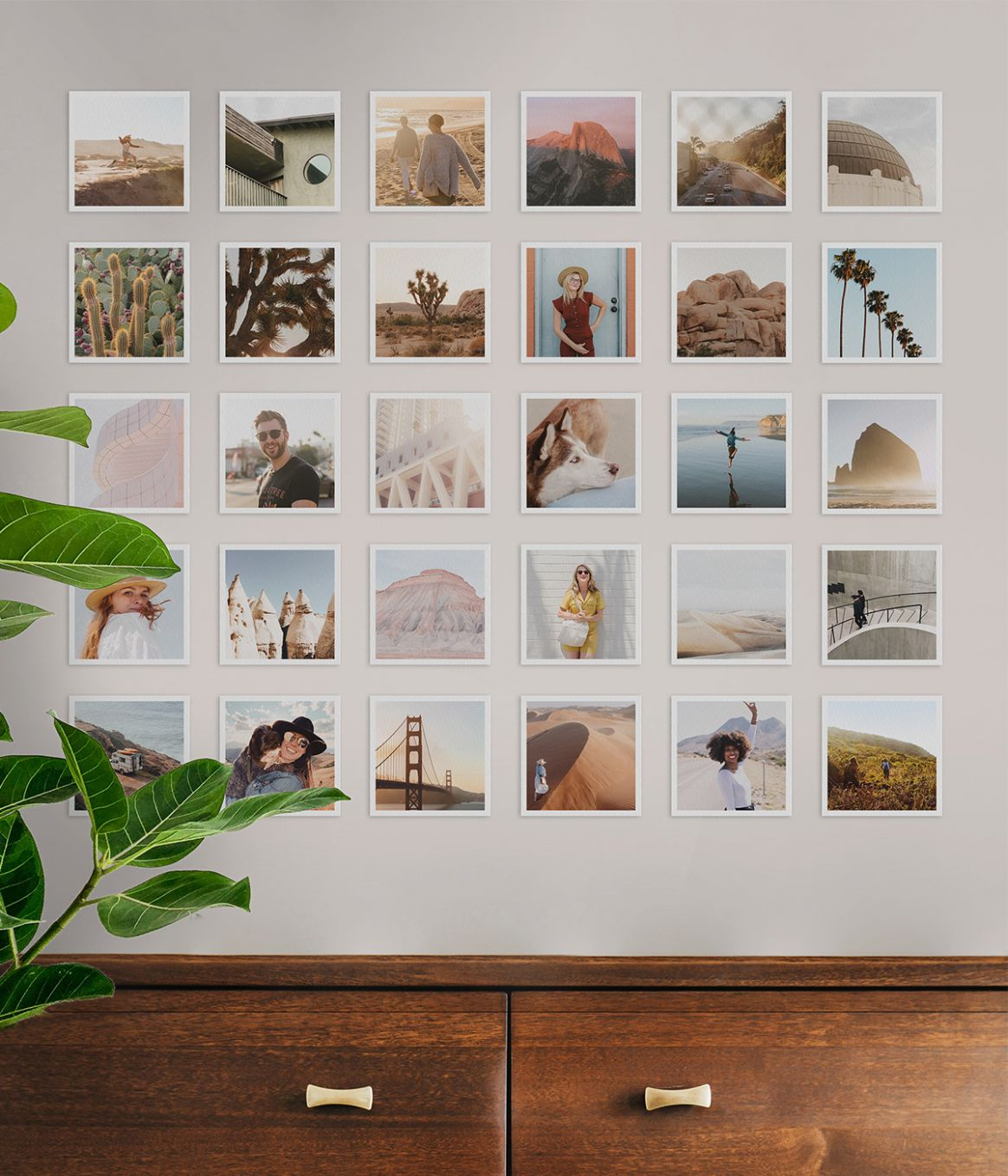 9 Wall Art Ideas to Personalize Your Space | Artifact Uprising - wall decor ideas with frames