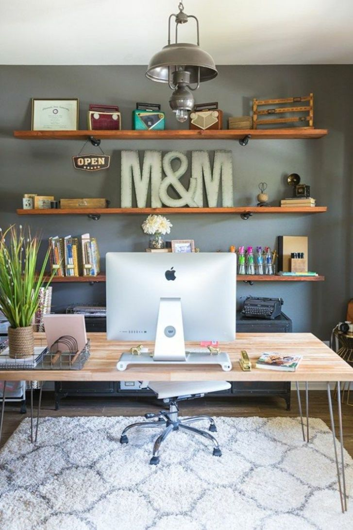 9 Wall Decor Ideas to Take to The Office - wall decoration ideas in office