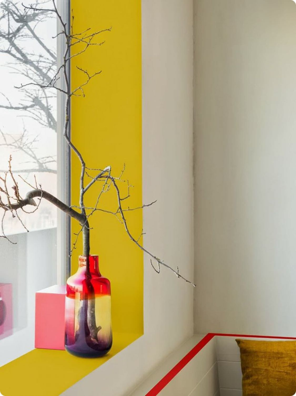 9 Ways to Completely Rethink Your Window Sills   Trim paint color ...