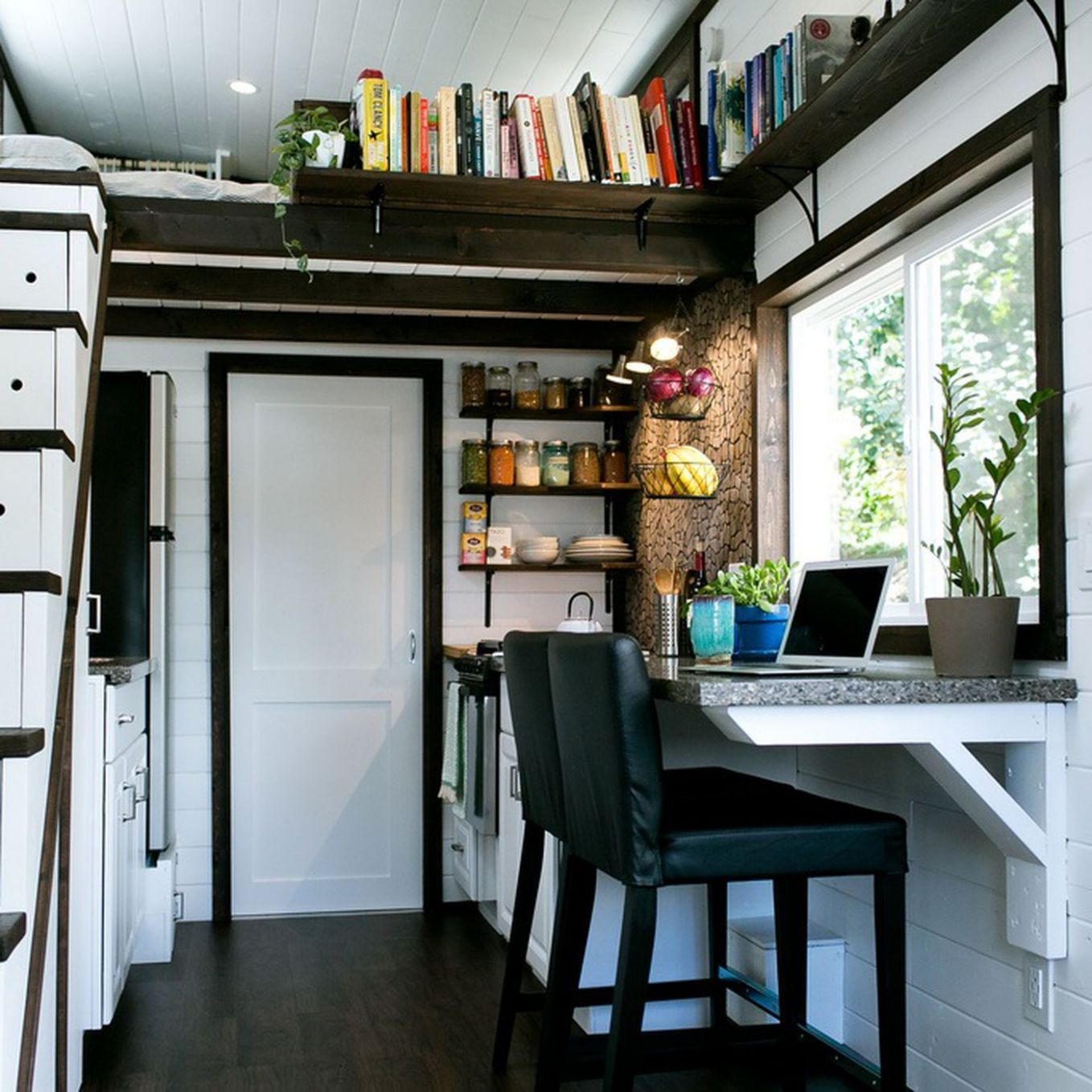 A Bellingham tiny house builder combines style and storage ...