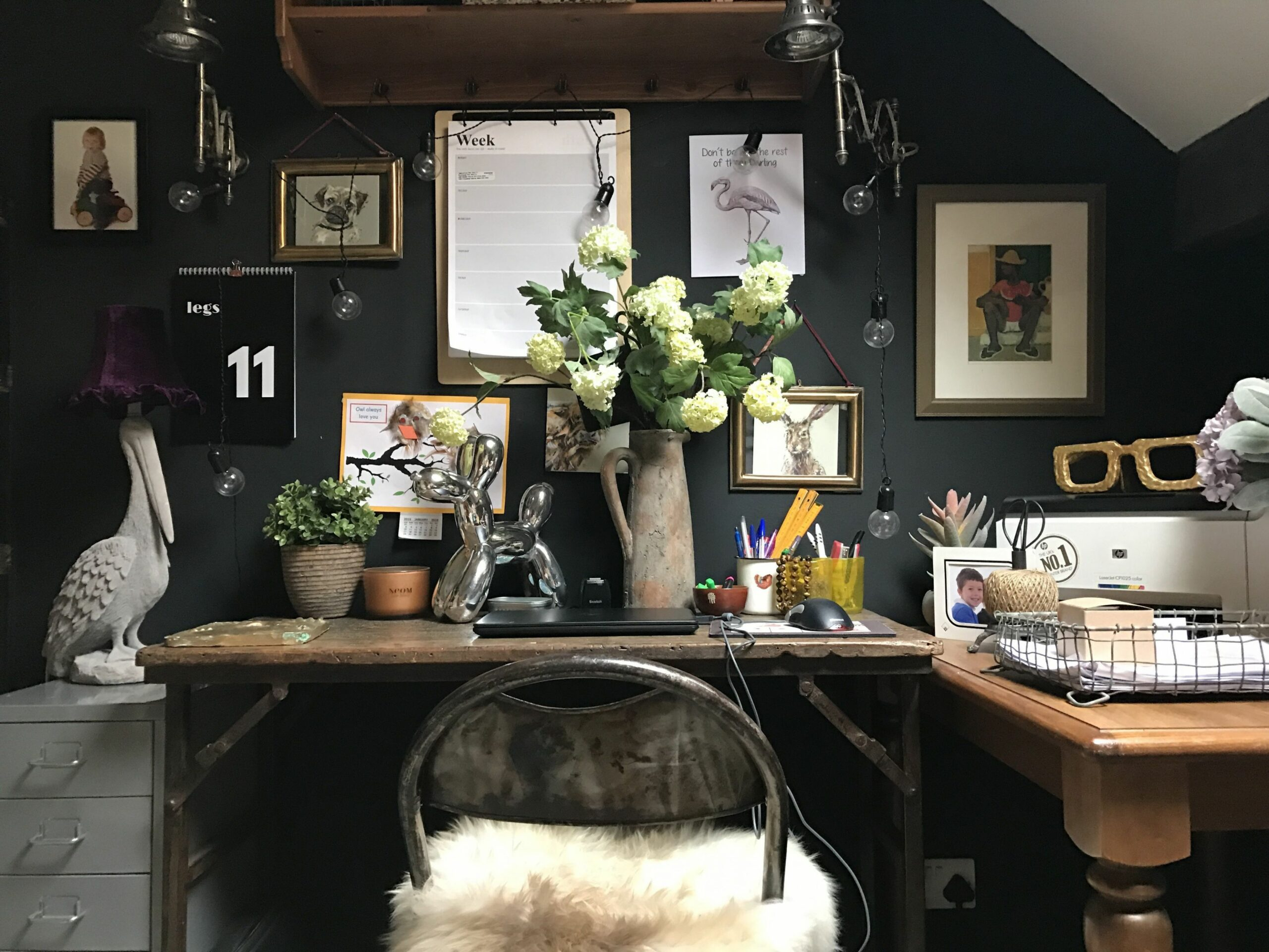 A Dark, Moody, Vintage-Filled Victorian in the UK | Home, Interior ..