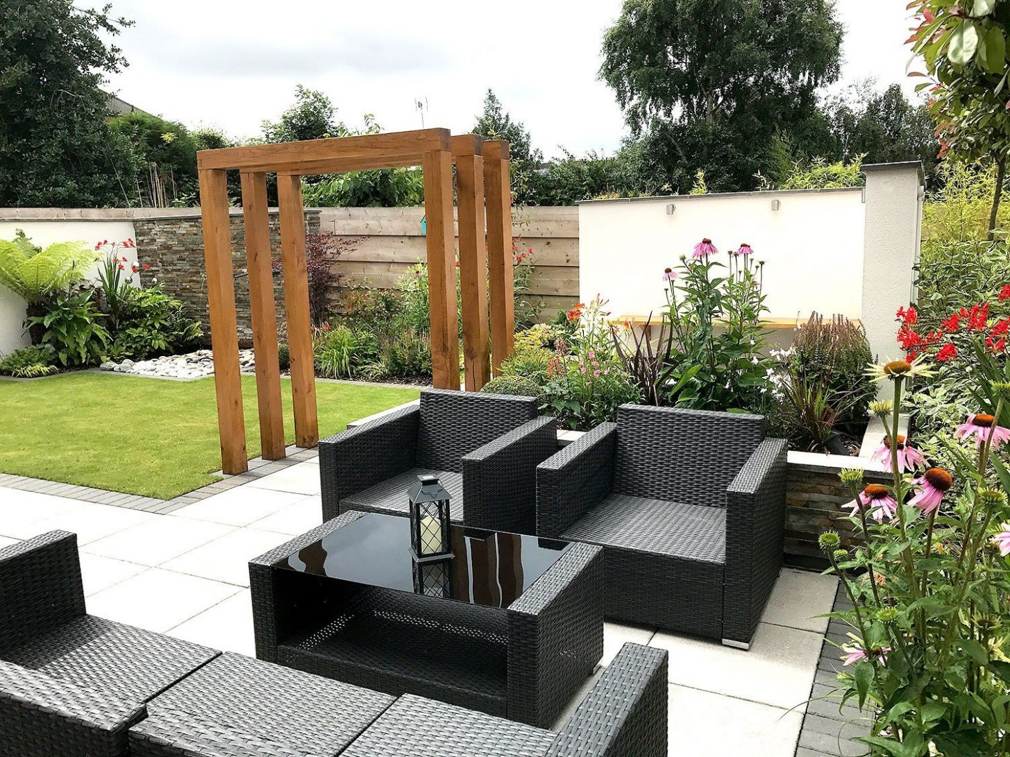 A Modern New Build Garden | Lush Garden Design - garden ideas new build