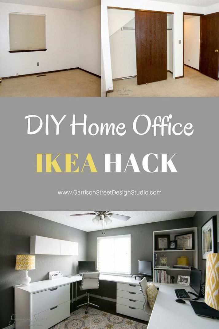 A Real Home Office | Home office layouts, Ikea home office, Ikea home - home office ideas ikea