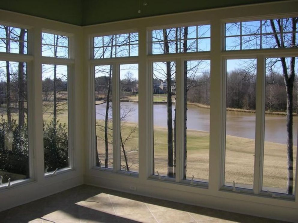 A Removable Screen For Sunroom Windows That Open Room Decors And ...