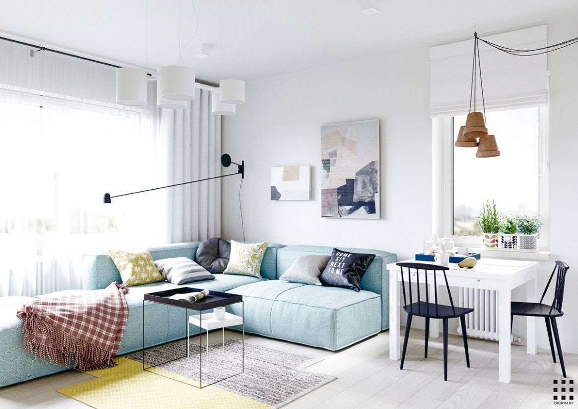 A Scandinavian Apartment Design With Beautiful and Cute Style ...
