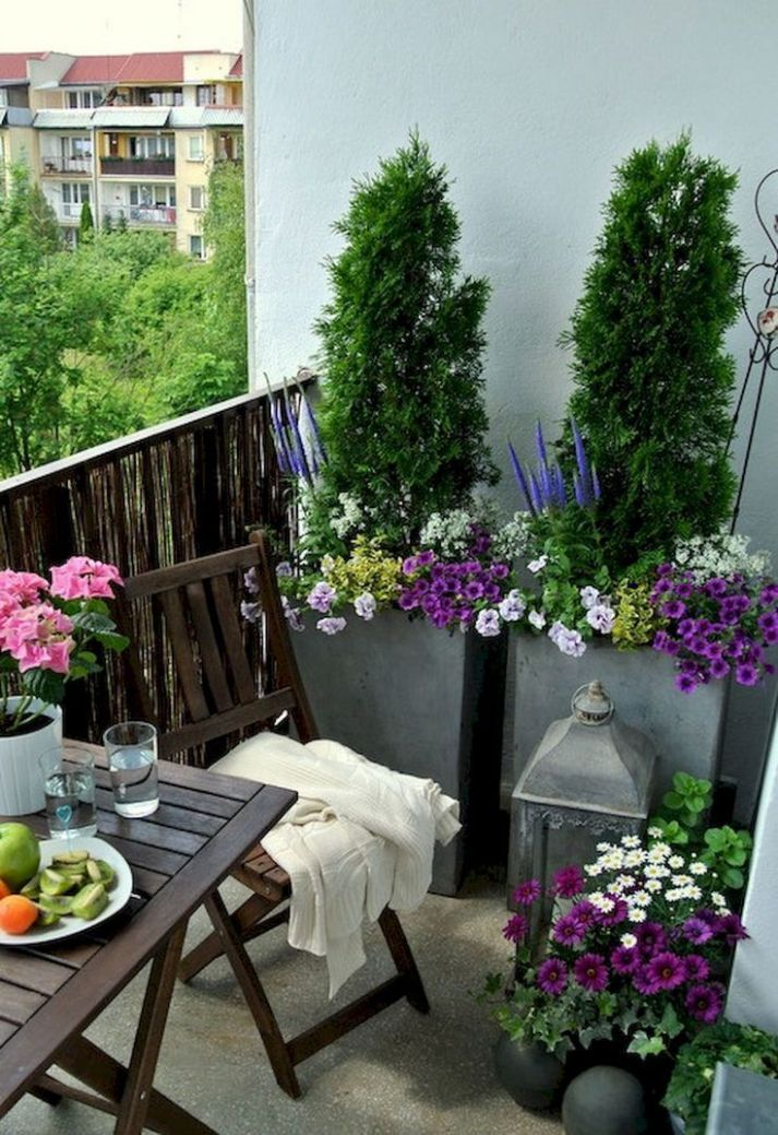 Adorable 9 small balcony apartment decorating ideas in a budget ...