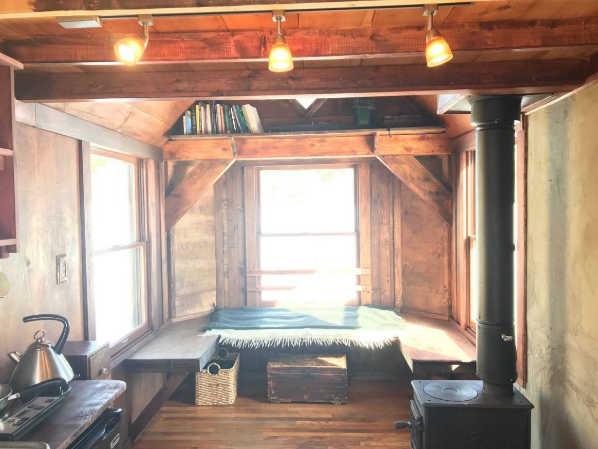 Affordable 11-square-foot tiny house in Vermont... $11,11