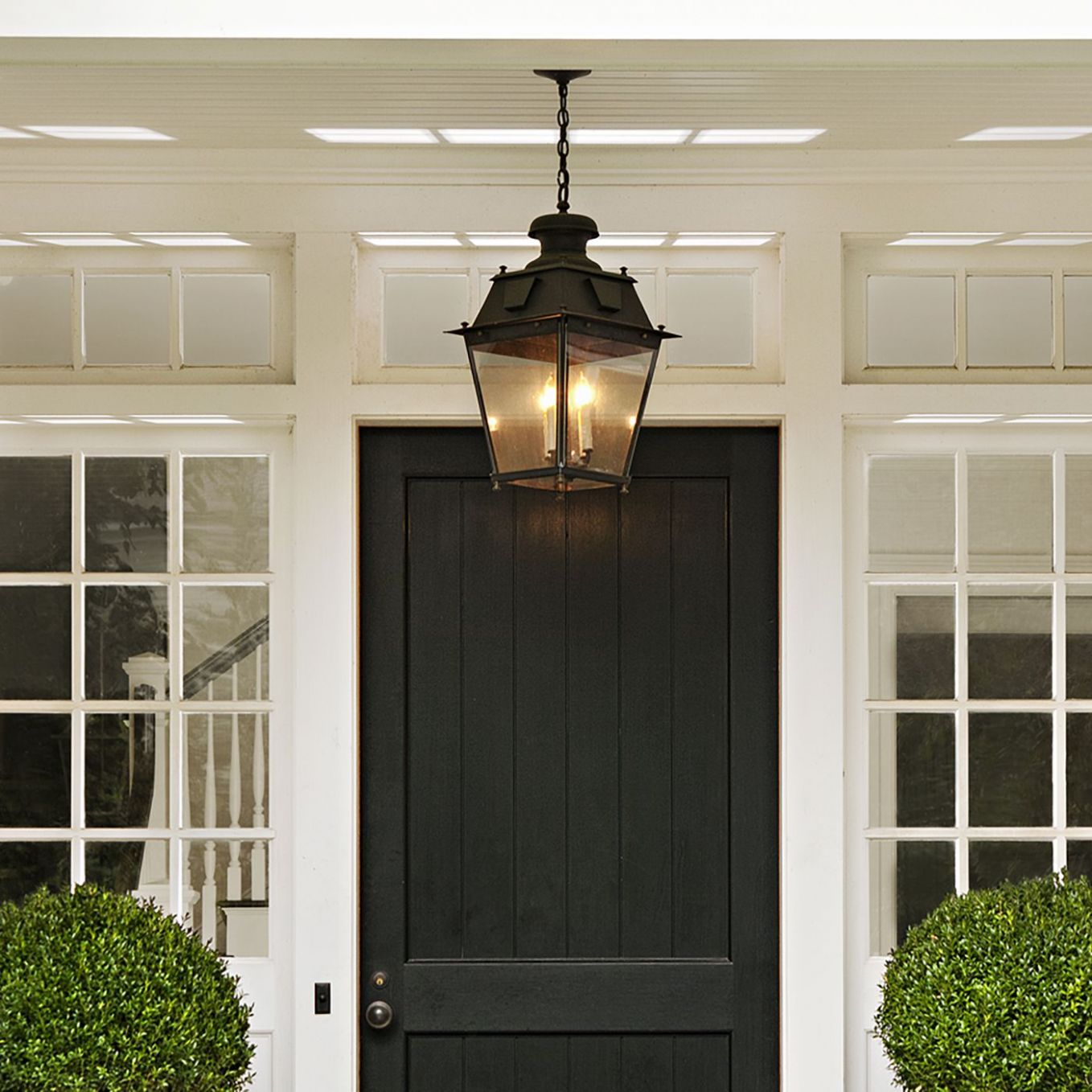 All About Front Entry Lighting - This Old House - front porch lighting ideas