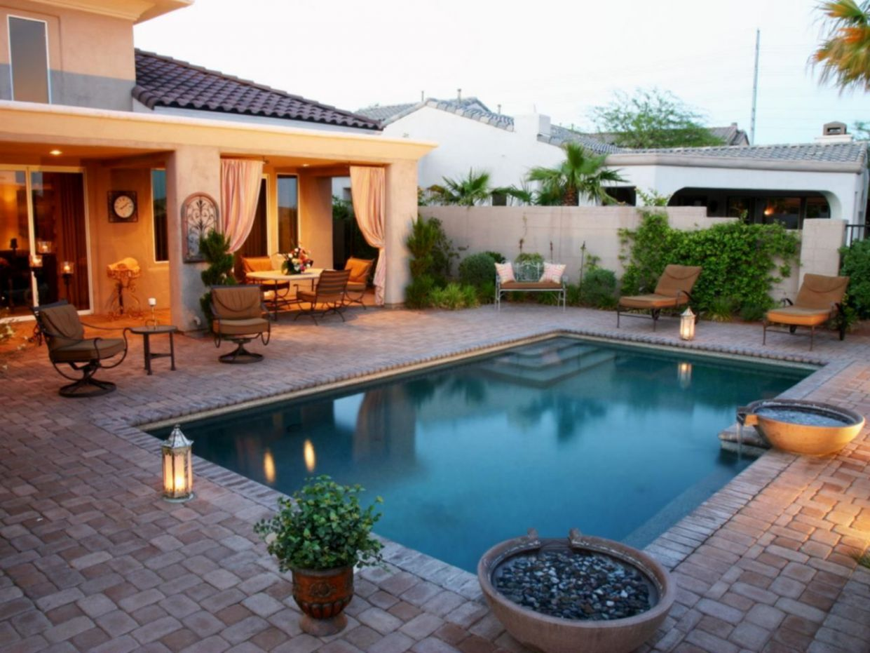Amasing Backyard Patio With Beautiful Pool Design Ideas 10 – DECOOR