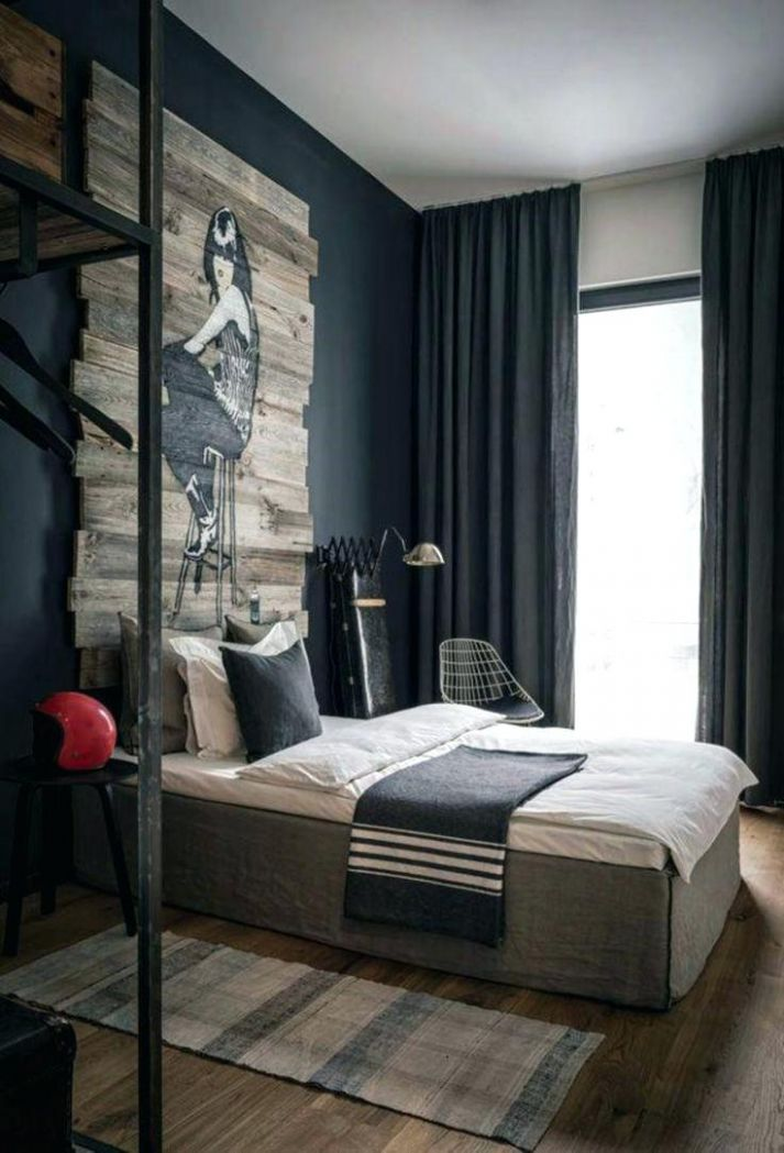 Amazing Apartment Decorating Idea For Guy Cool Bedroom Winsome ...