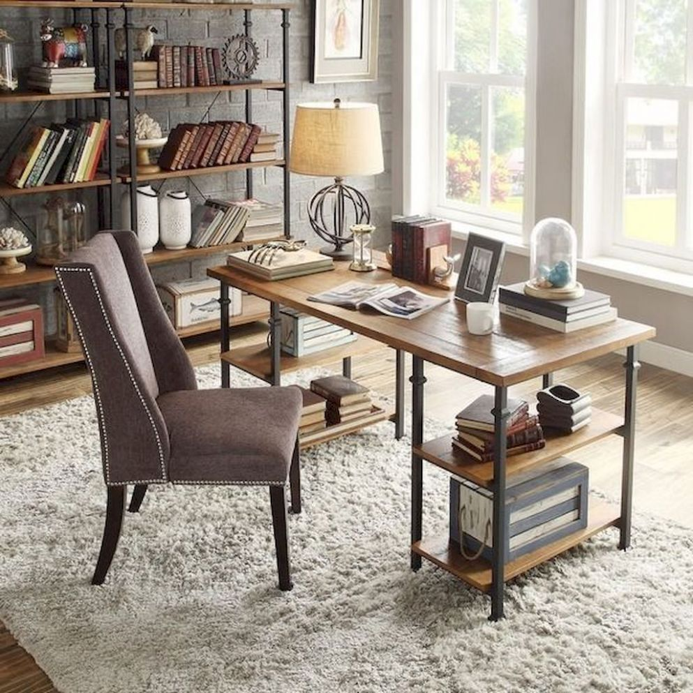 Amazing Furniture Ideas | Rustic home offices, Home office ..