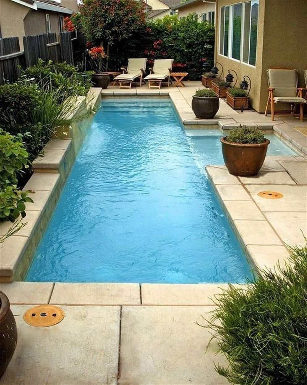 Amazing Ideas for Small Backyard Landscaping | Small backyard pools - pool ideas inground