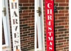 Amazon.com: 12 foot tall reversible porch signs double sided porch ...