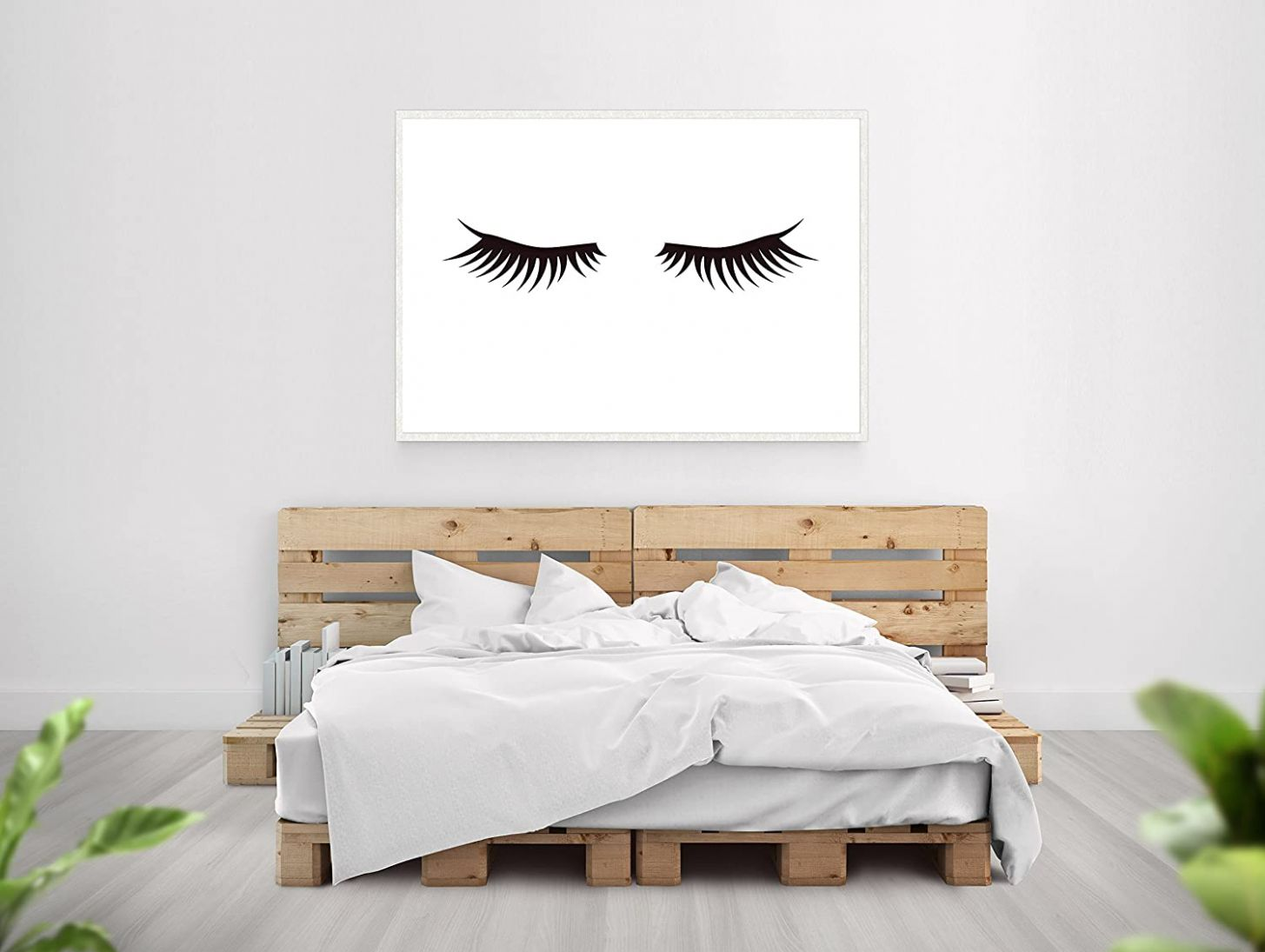 Amazon.com: SpecsDecorCo Eyelash Print Artwork/Makeup Room ...