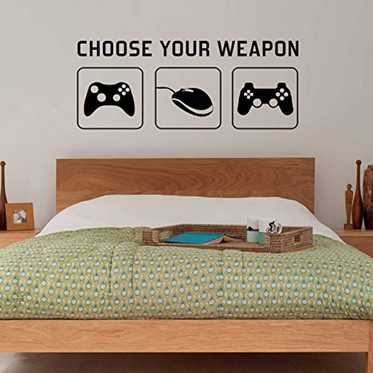Amazon.com: Wall Vinyl Decal Ra Choose Your Weapon Video Game ...