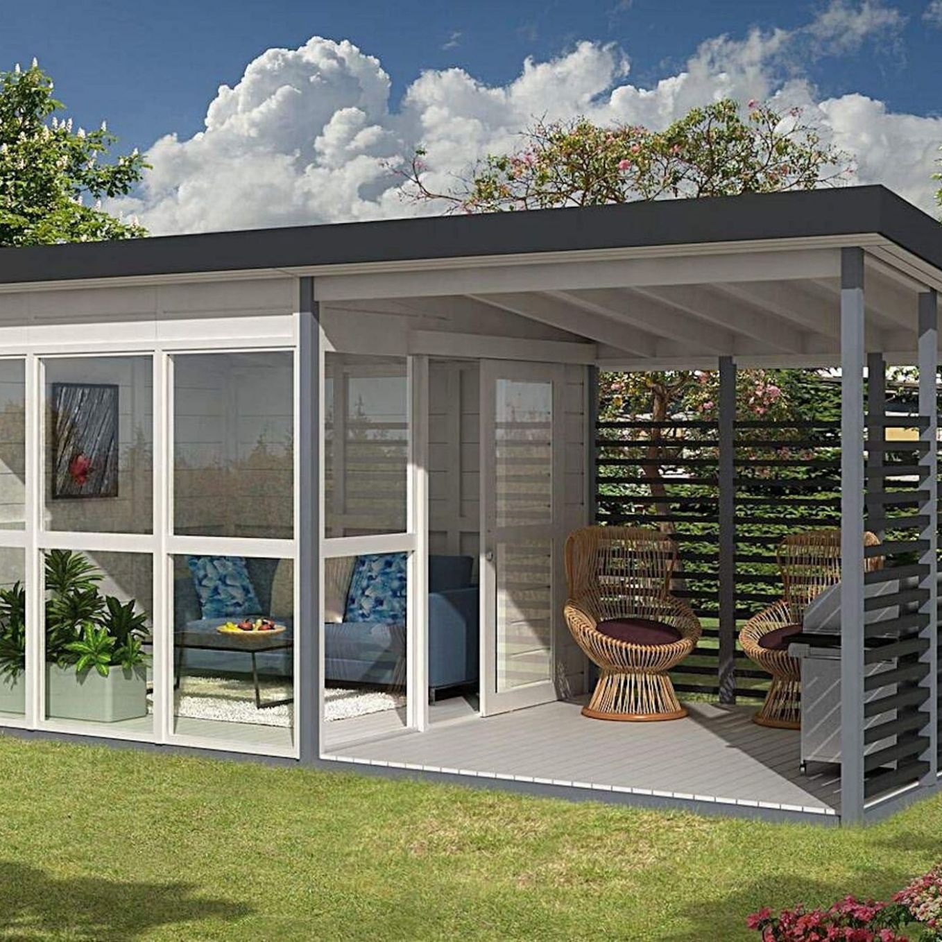 Amazon's viral $11K tiny house is back in stock - Curbed