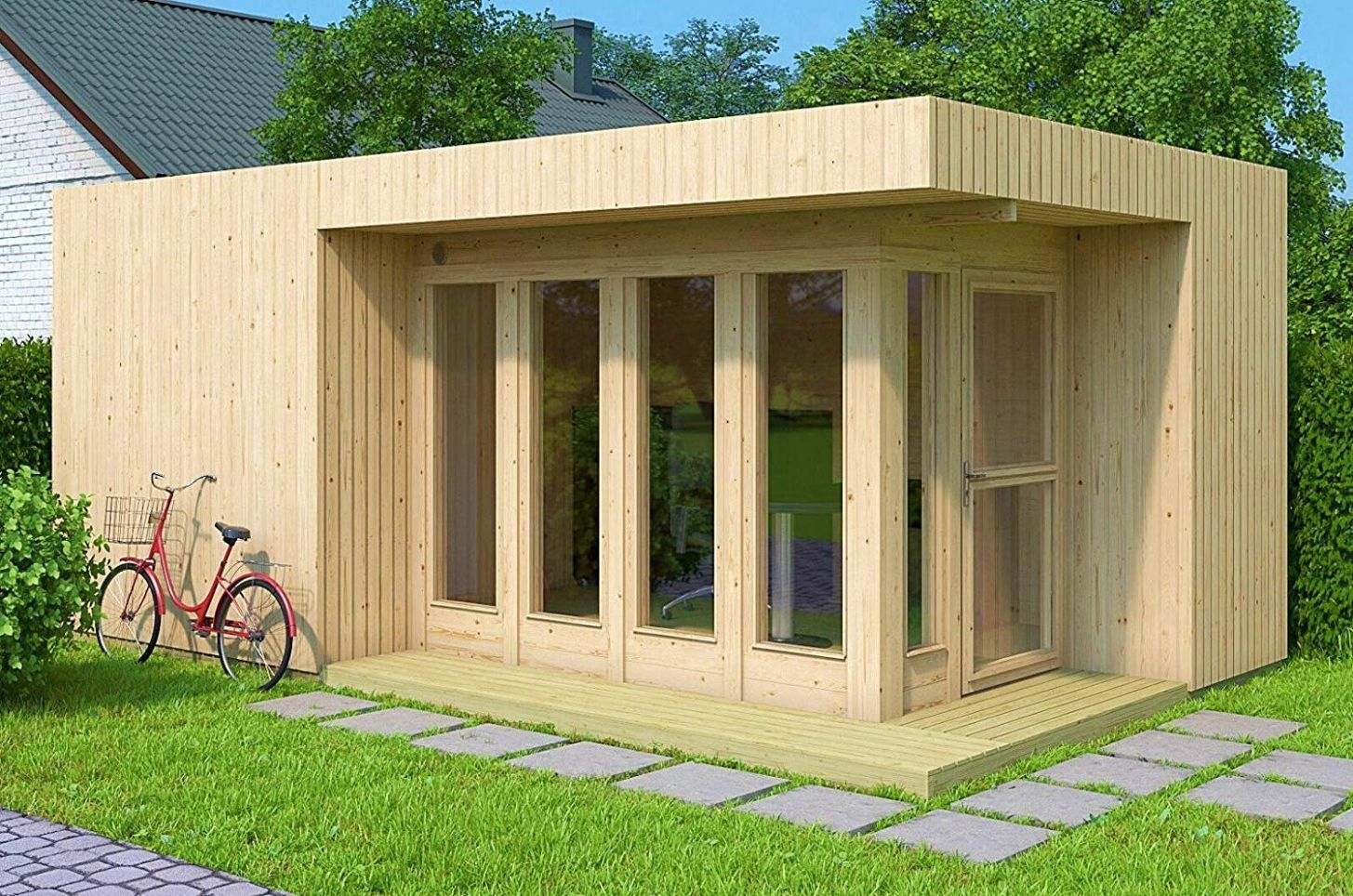 Amazon sells a DIY tiny house kit you can build yourself in a few ...