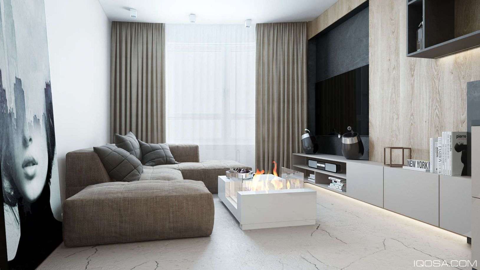 An Approachable Take On Luxury Apartment Design | Apartment design ...