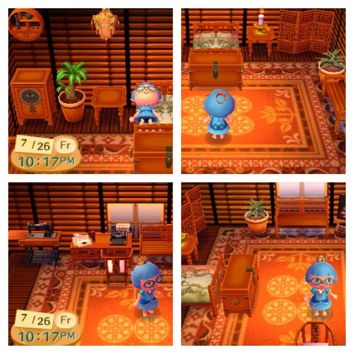Animal Crossing décor inspiration – Virginia Roberts - acnl house inspiration