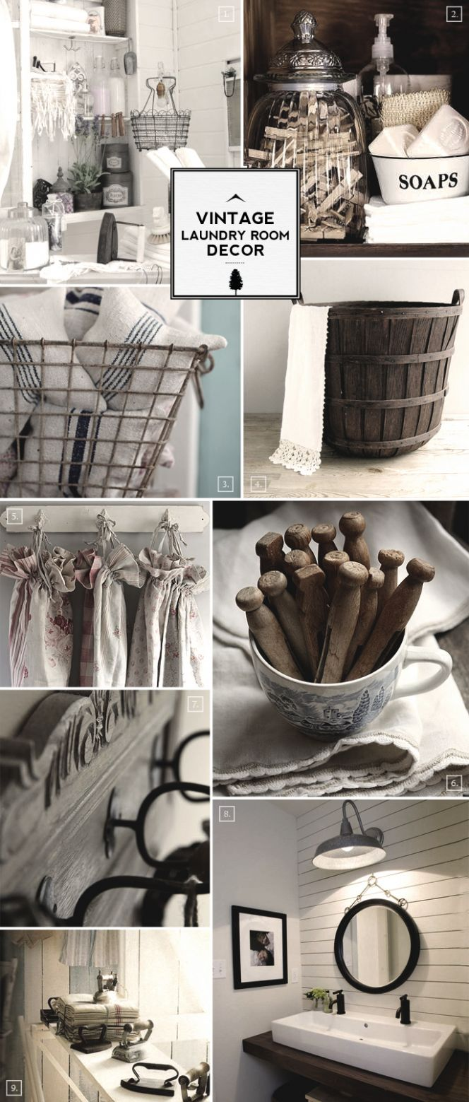 Antique Laundry Room Decor - Vintage Laundry Room Decor ..