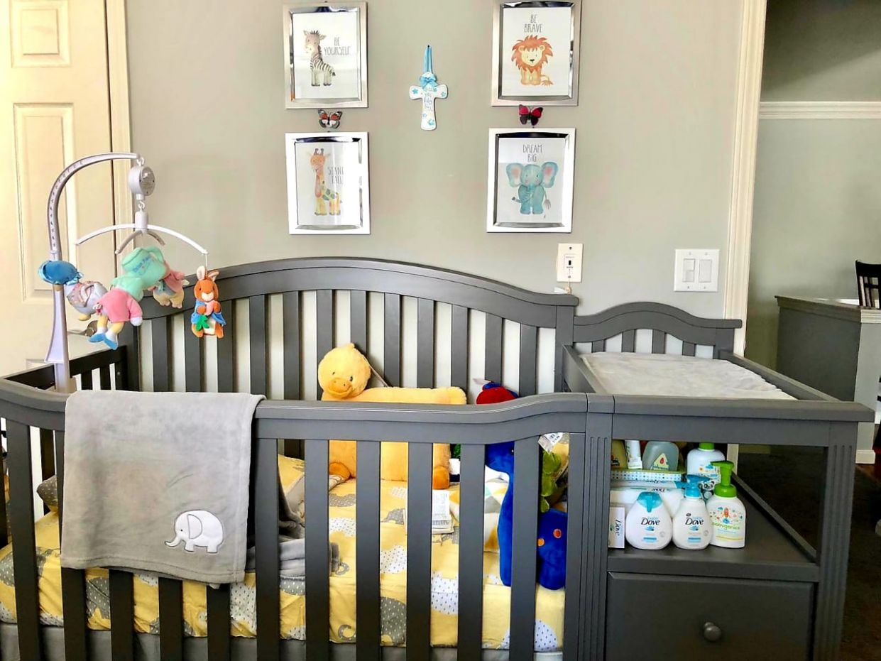 Anyone with nursery set up in there bedroom? - October 11 Babies ...