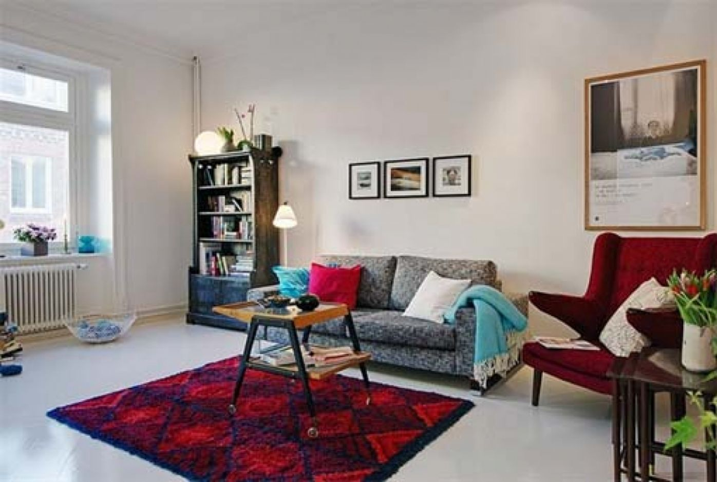 Apartment Modern Living Room Decorating Ideas For Apartments Small ...