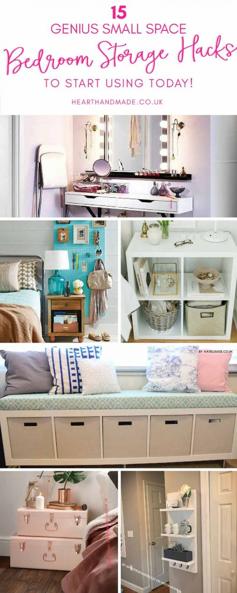 Are you in need of some genius bedroom storage ideas? | Bedroom ..