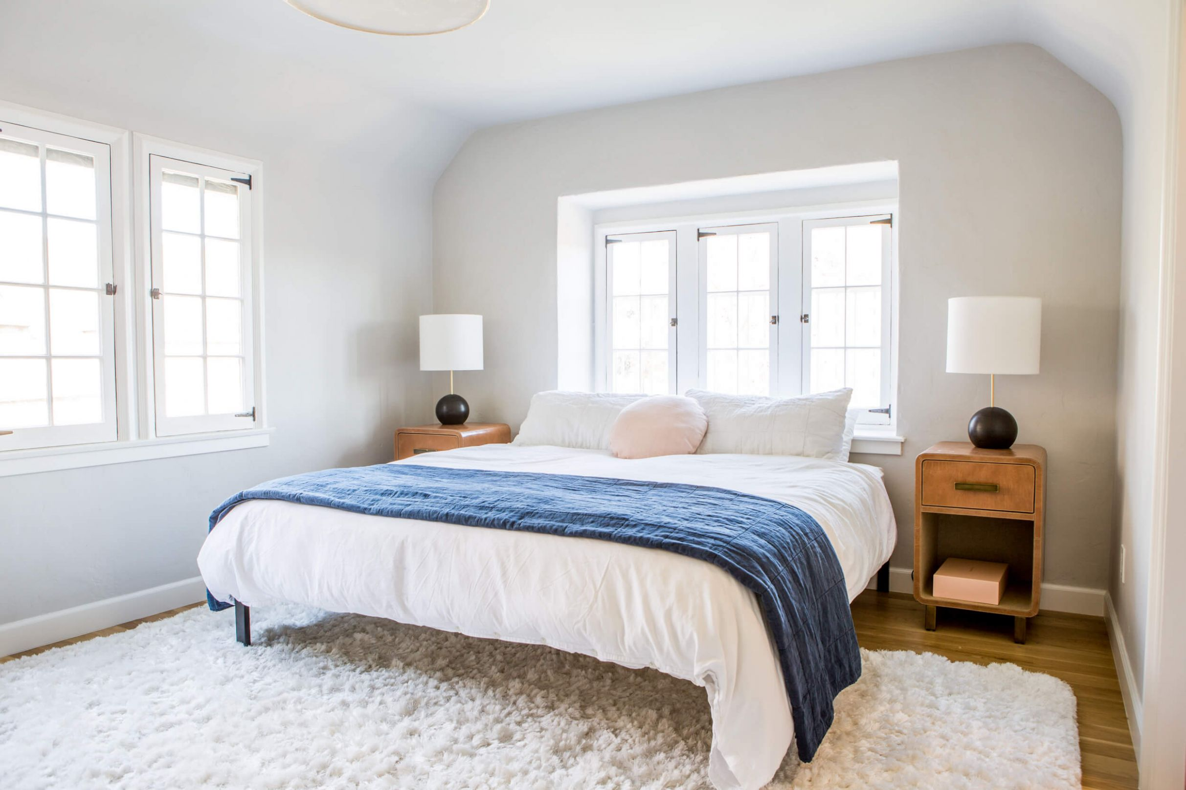 Ask the Audience: Master Bed In Front of Window - Emily Henderson