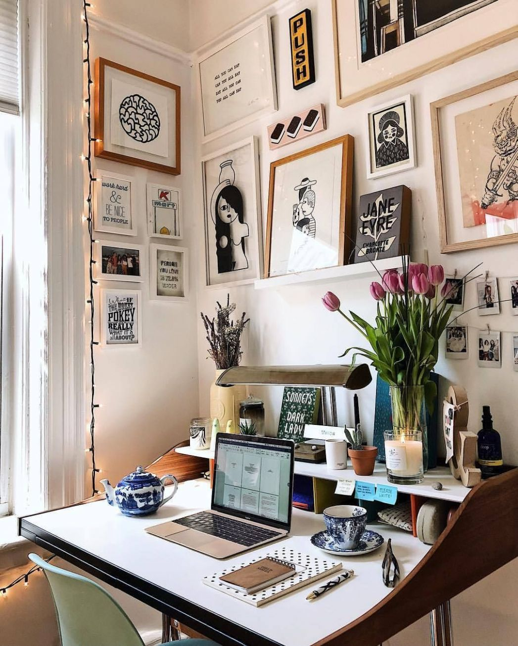 Astonishing small home office lighting ideas | Quirky home decor ..