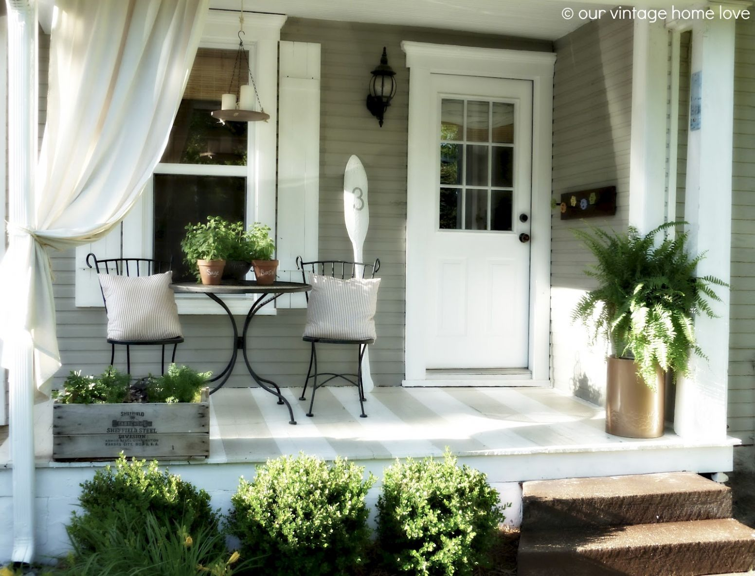 Attractive Country Porch Designs Small Front Decorating Ideas ...