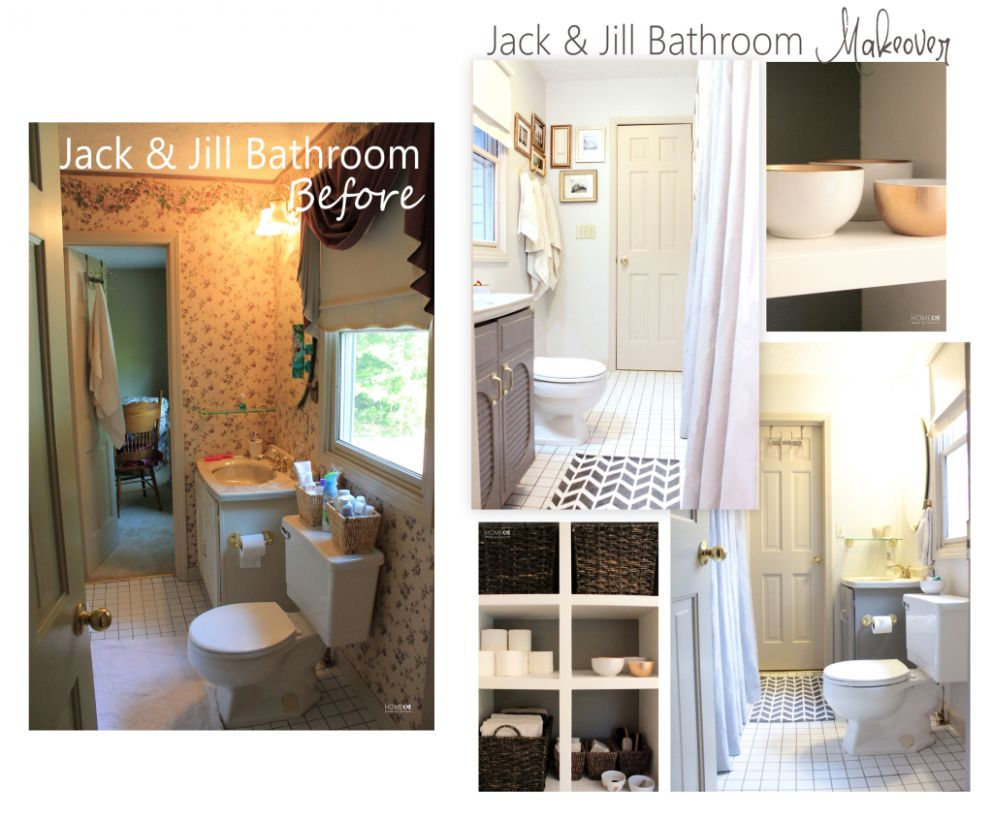 Attractive Jack And Jill Bathroom Ideas with Jack And Jill ...